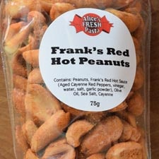 Frank's Red Hot Peanuts